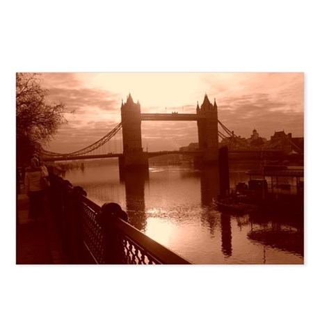 AM Travels to London Postcards (Package of 8)