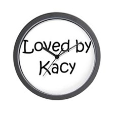 Cute Kacie Wall Clock