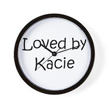 Unique Kacie Wall Clock