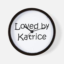 Cute Katrice Wall Clock