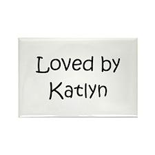 Cute Katlyn Rectangle Magnet