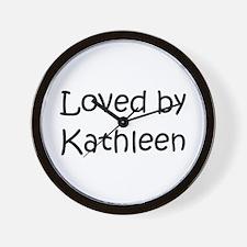 Cool Kathleen Wall Clock