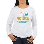 Border Collie Women's Long Sleeve T-Shirt