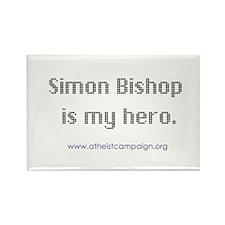 Saint Simon Bishop Rectangle Magnet