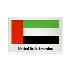 United Arab Emirates Flag Rectangle Magnet