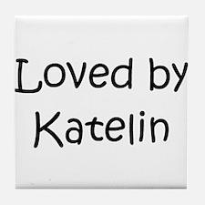 Cute Katelin Tile Coaster