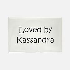 Unique Kassandra Rectangle Magnet