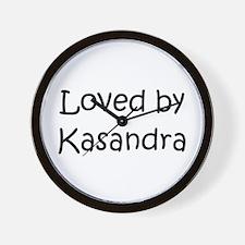 Cute Kasandra Wall Clock