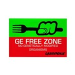 10-pack of our GE Free Zone Fridge Magnet