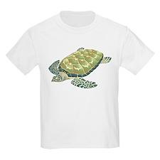 Hawksbill Turtle Kids T-Shirt