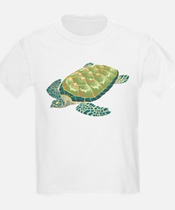 Hawksbill Turtle Kids T-Shirt