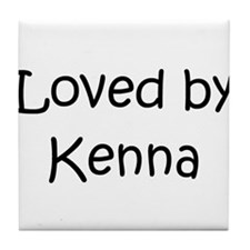 Unique Kenna Tile Coaster