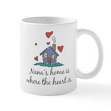 Nana's Home is Where the Heart Is Mug