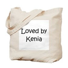 Funny Kenia Tote Bag