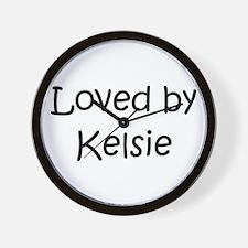 Unique Kelsie Wall Clock