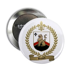 RICARD Family Crest Button