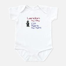 Landon - CIA Agent by Night Infant Bodysuit