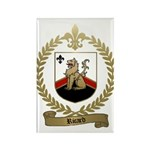 RICARD Family Crest Rectangle Magnet