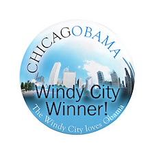 Windy City Winners! Chicagobama button