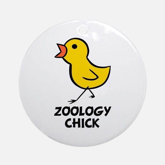 Chick Ornament (Round)
