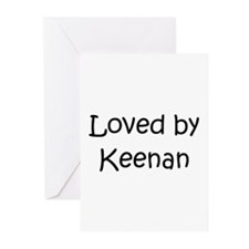 Unique Keenan Greeting Cards (Pk of 20)