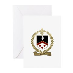 RIVARD Family Crest Greeting Cards (Pk of 10)