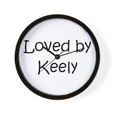 Cute Keely Wall Clock