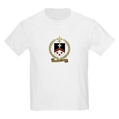 RIVARD Family Crest Kids T-Shirt