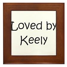 Unique Keely Framed Tile