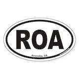 Roa Bumper Stickers