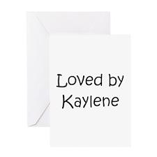 Kaylen Greeting Card