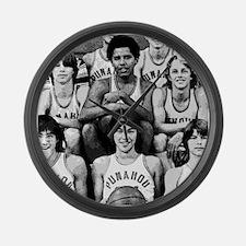 Obama Basketball Large Wall Clock