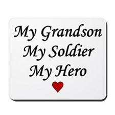 My Grandson Soldier Hero Mousepad