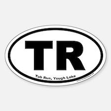 Tub Run, Yough Lake Oval Decal