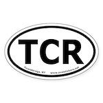 Ticonderoga, New York Oval Car Sticker
