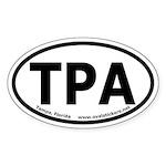 Tampa, Florida Oval Sticker