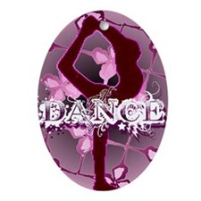 dance 01 Ornament (Oval)