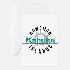 Kahului Maui Hawaii Greeting Cards (Pk of 20)