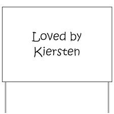 Unique Kiersten Yard Sign