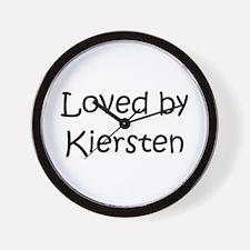 Cute Kiersten Wall Clock