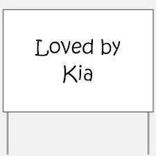 Kia Yard Sign