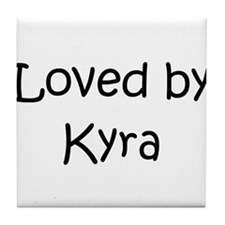 Funny Kyra Tile Coaster