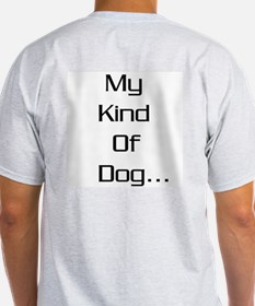 GSD - My kind of dog Ash Grey T-Shirt
