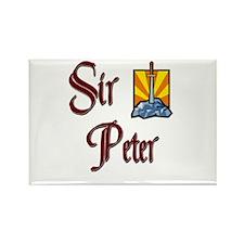 Sir Peter Rectangle Magnet