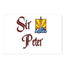 Sir Peter Postcards (Package of 8)