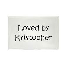 Unique Kristopher Rectangle Magnet