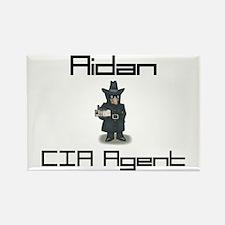 Aidan - CIA Agent Rectangle Magnet