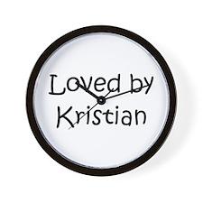 Cute Kristian Wall Clock