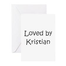 Cute Kristian Greeting Cards (Pk of 10)