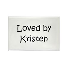Unique Kristen Rectangle Magnet